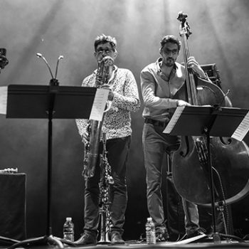 Photo d'Eric Séva quartet 15 avril Millau Jazz Festival